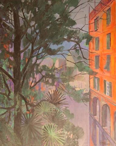 Senza Titolo - 1981 - Olio su Tavola - 100x80
