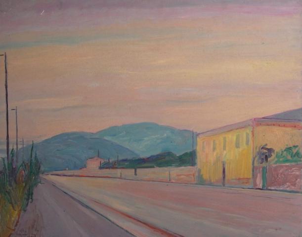 Senza Titolo - 1981 - Olio su Tavola - 80x100