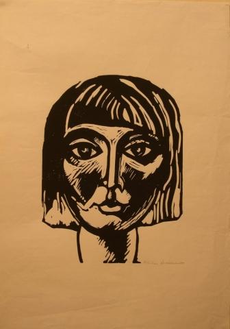 Xilografia su Carta - 59x42 - 1964