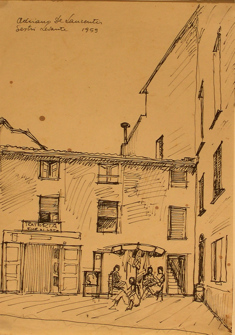 Sestri Levante - Penna su Carta - 29x20 - 1959