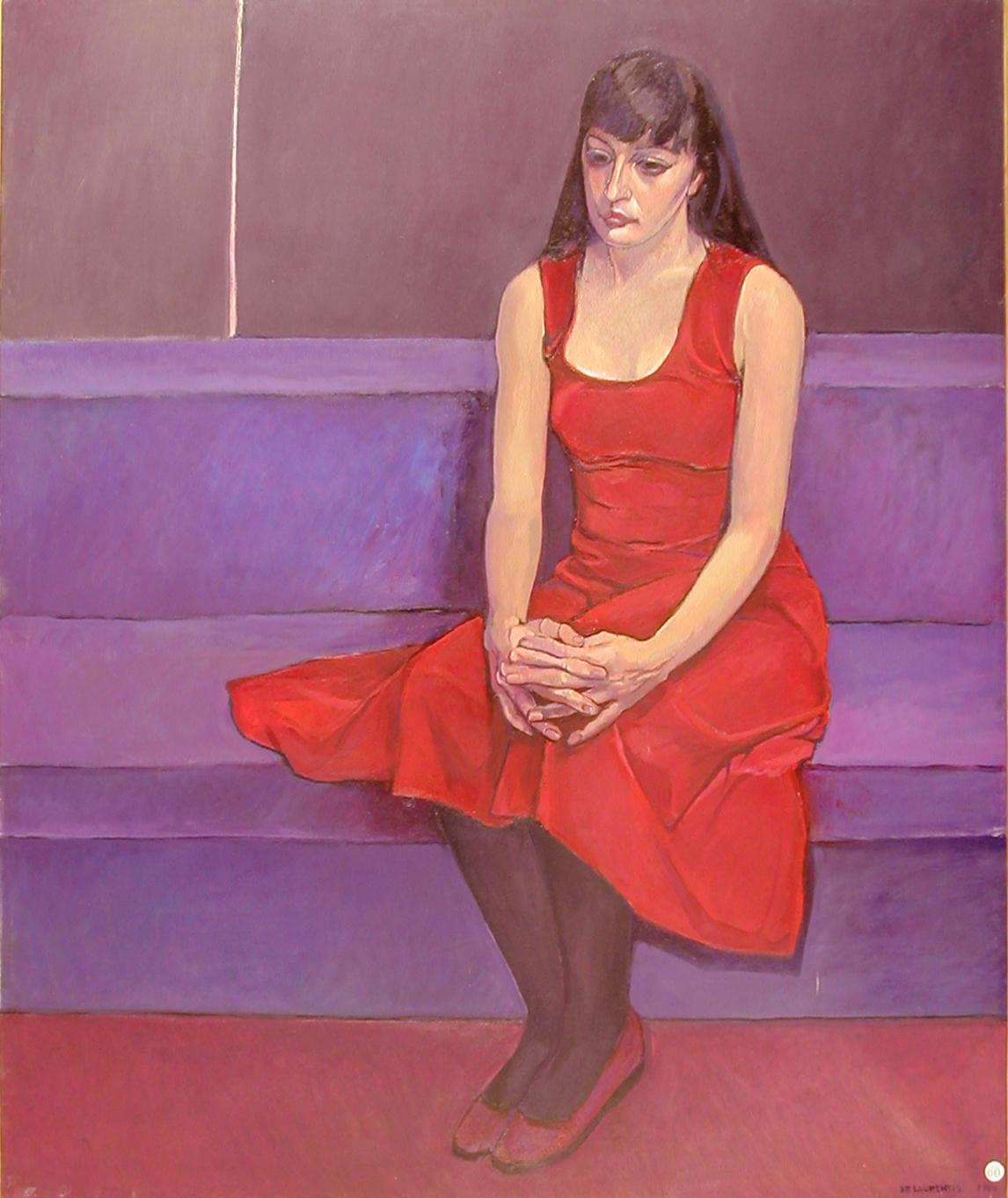Ritratto di Elisabetta - 1988 - Olio su Tela - 120x100