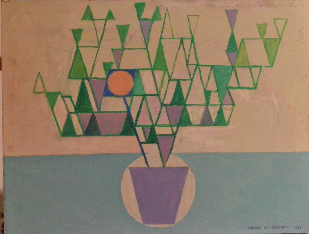 Olio su Truciolare - 50x60 - 1968