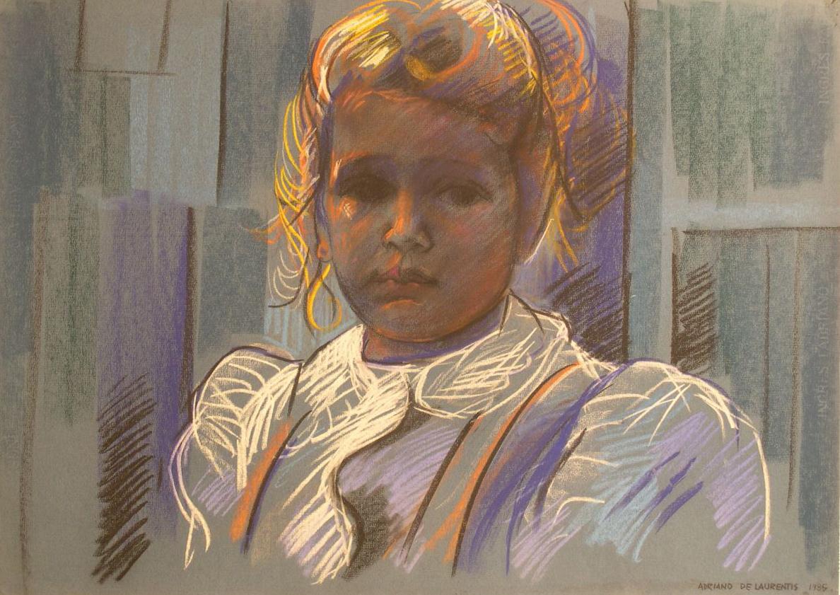 Senza Titolo - 1985 - Pastello su Cartoncino - 50x70