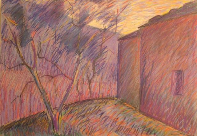 Senza Titolo - 1986 - Pastello su Cartoncino - 50x70