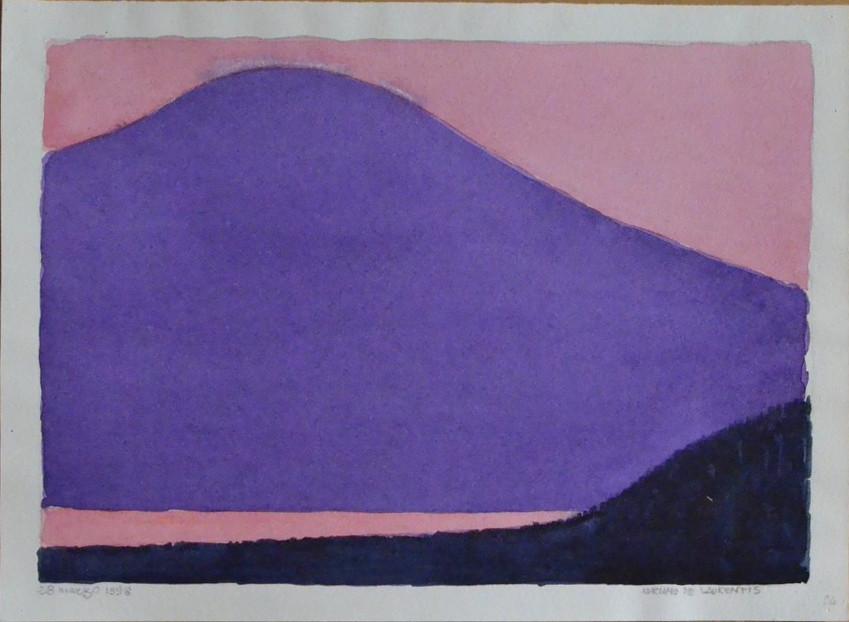 Senza Titolo - 1998 - Acquerello su Cartoncino - 24x33,5
