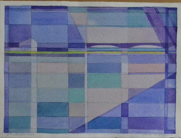 Senza Titolo - 1999 - Acquerello su Cartoncino - 28,5x38