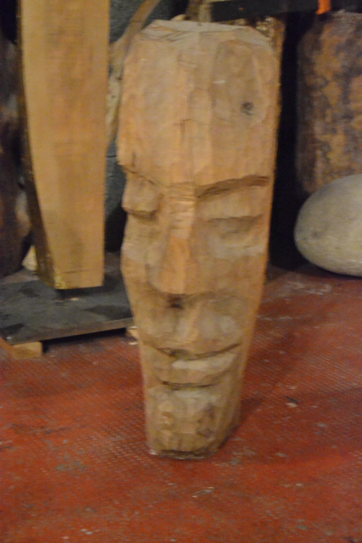 Totem II - Scultura in Legno - 61x20x21 - 1970