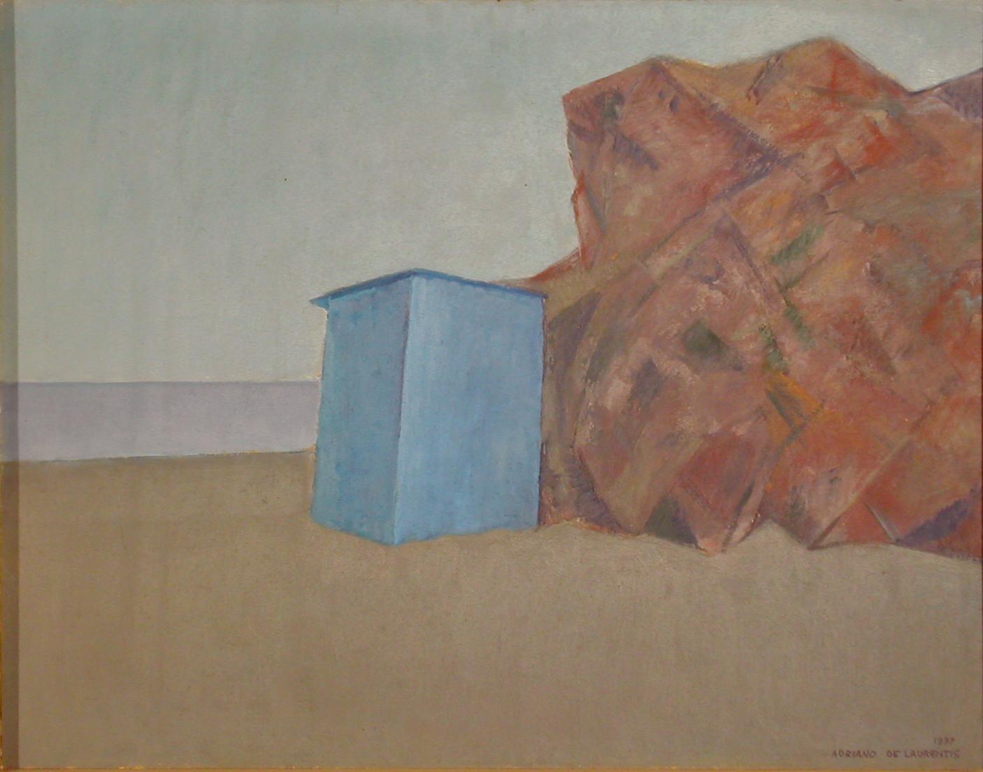 Olio su Compensato - 60x77 - 1977