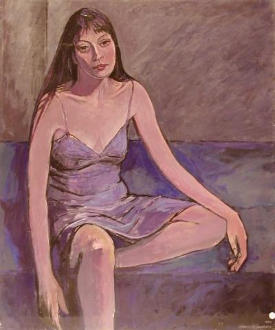Elisabetta - 1989 - Olio su Tela - 100x83