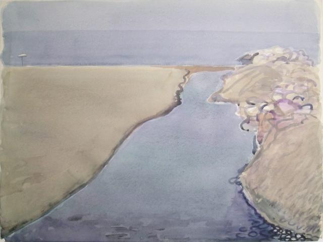 Senza Titolo - 1991 - Acquerello su Carta - 56,5x76