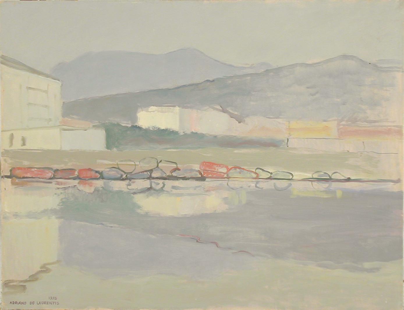 Olio su Compensato - 50x65 - 1976