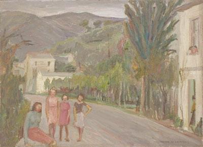 Olio su Compensato - 40x55 - 1950