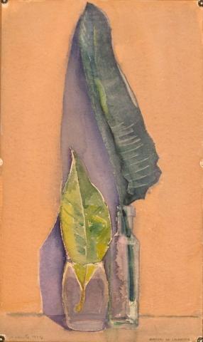 Senza Titolo - 1994 - Acquerello su Cartoncino - 56x33,5