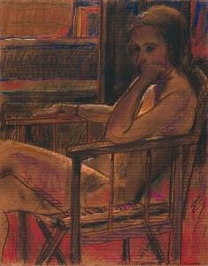 Mirka - 1992 - Pastello su Cartone - 75x59