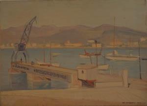 Olio su Compensato - 40x55 - 1951