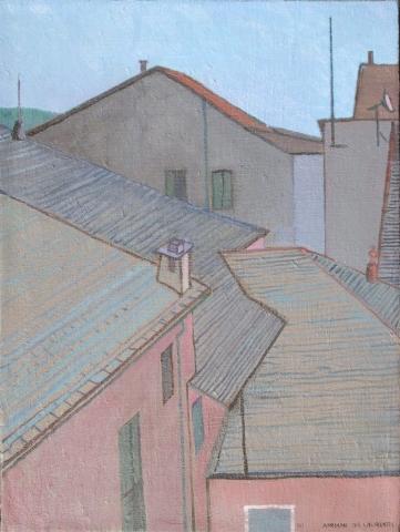 Senza Titolo - 2001 - Olio su Tela - 65x50