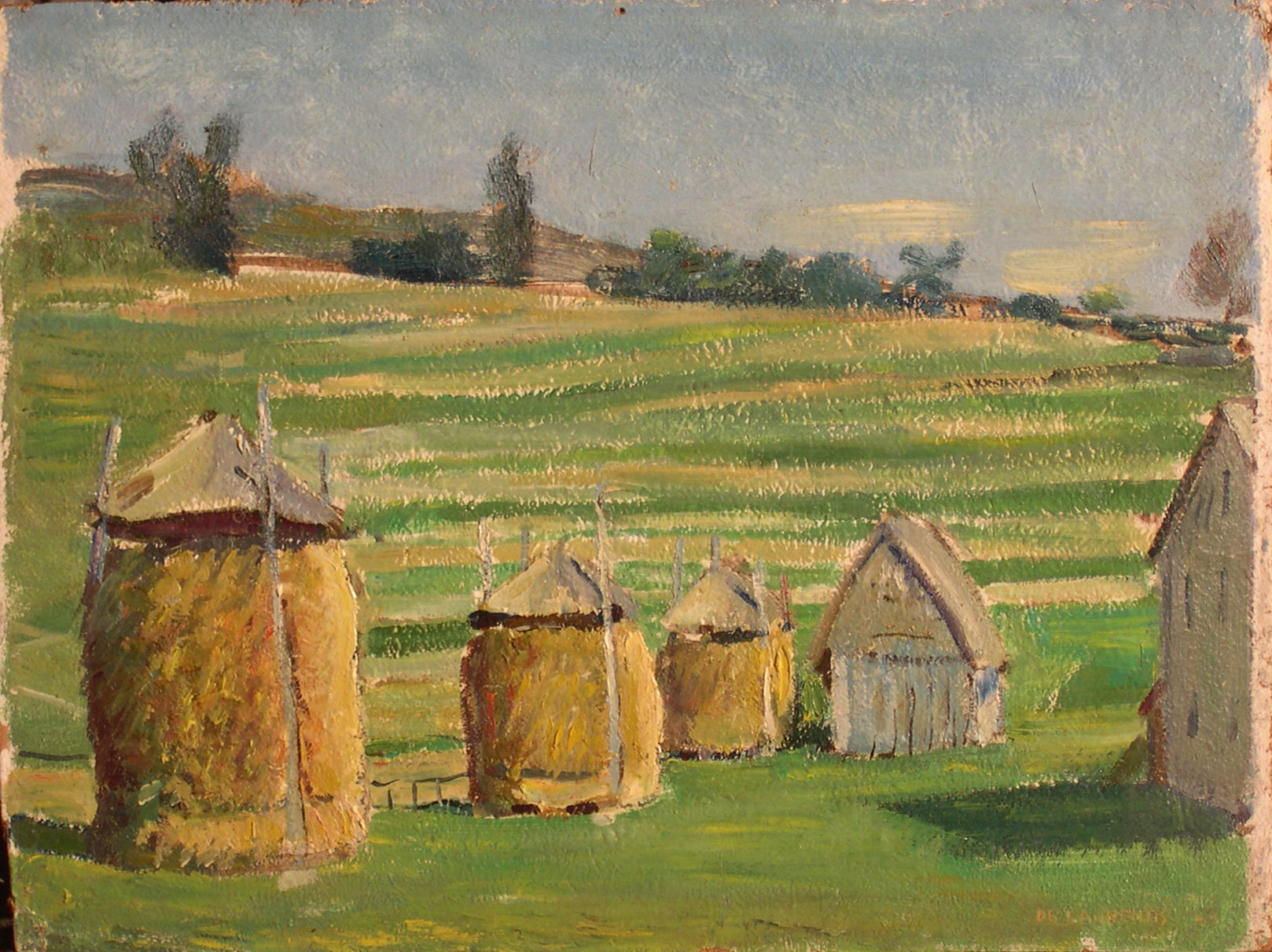 Olio su Cartone - 28x37 - 1948