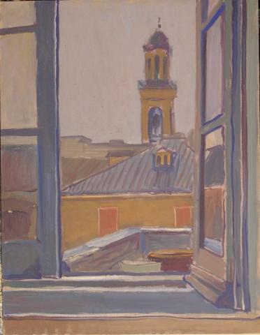 Olio su Tavola - 65x50 - 1973