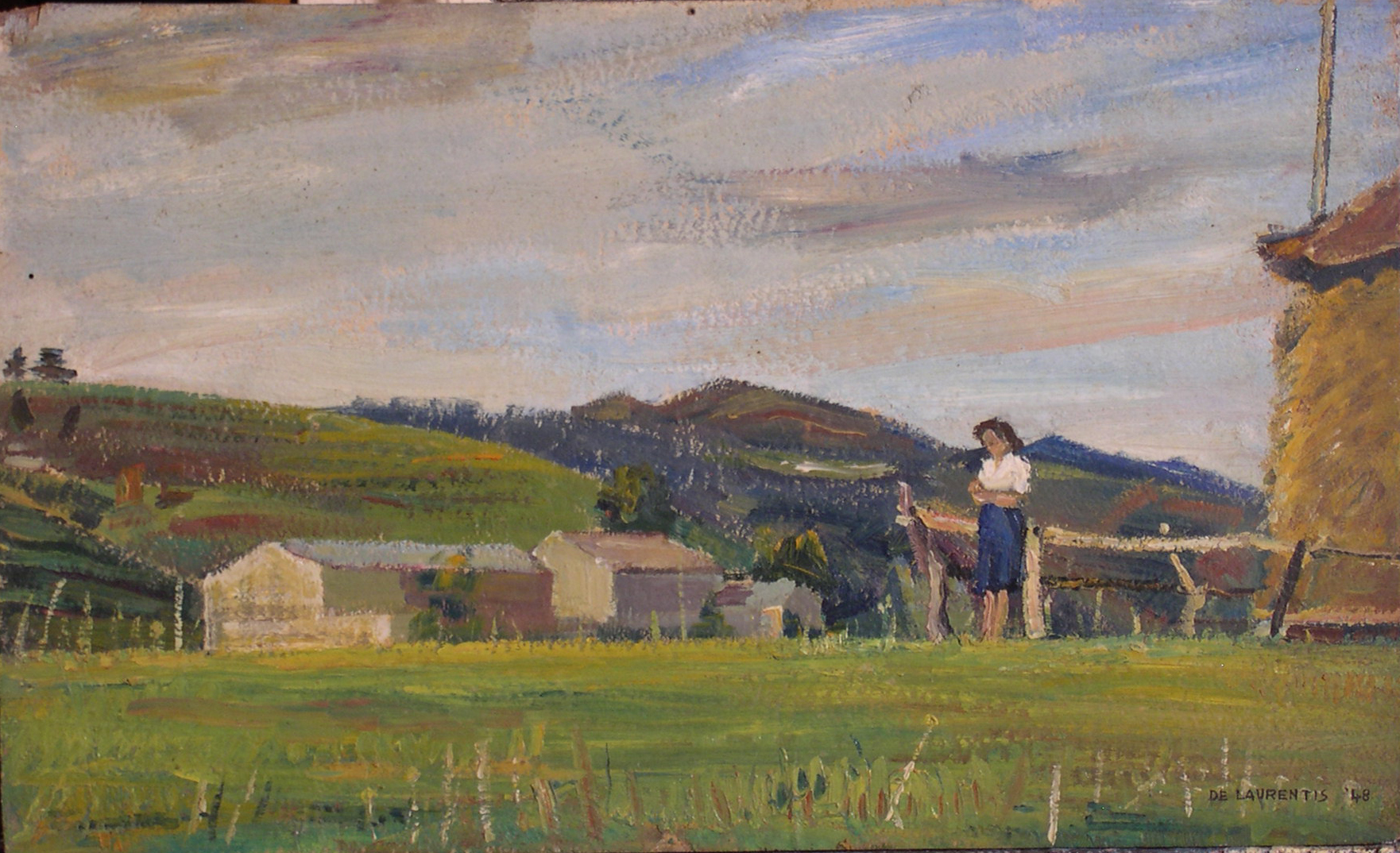 Olio su Tavola - 30x50 - 1948